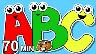 Download lagu  Alphabet Songs Collection More Busy Beavers 70 Min Compilation Learn to Sing the ABCs Baby MP3