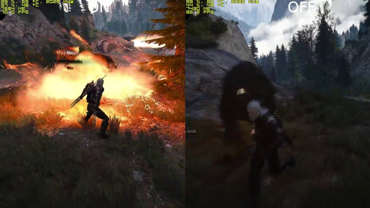 The Witcher 3 (Haiworks On Vs Off) FPS DROPS! [GTX 1080, i7 4790k]
