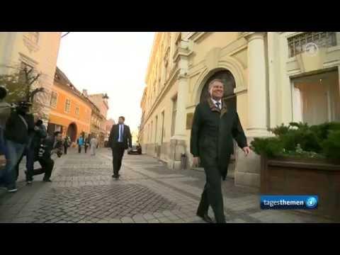 Siebenbürgen: Hermannstadts Bürgermeister Klaus Johannis wird Präsident Rumäniens