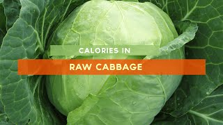 Calories In Cabbage [raw, Cabbage Soup, Cabbage Salad]