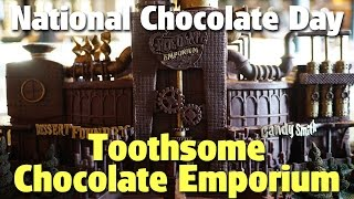 Celebrating National Chocolate day at Toothsome Chocolate Emporium | CityWalk