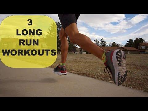 3 Types of Long Runs as Workouts for half marathons to ultra marathon | Sage Running Training Tips