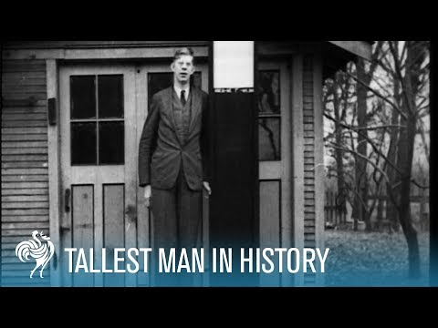 Footage of Robert Wadlow
