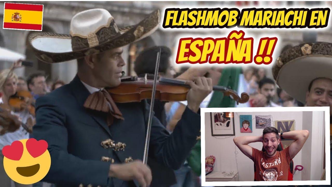reaccionando-a-la-flashmob-de-mariachi-en-espaa-lamusicarompefronteras-jon-sinache