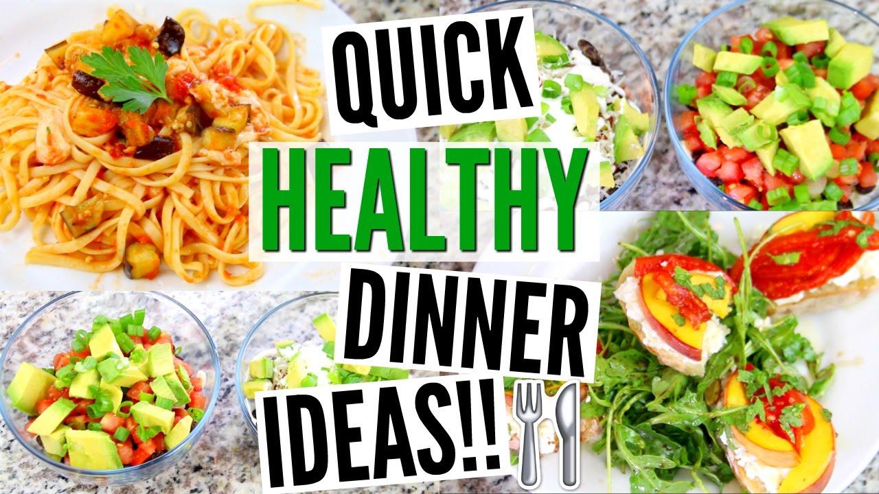 3 quick easy dinner ideas vegetarian vegan friendly youtube