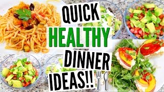 3 Quick & Easy Dinner Ideas | Vegetarian & Vegan Friendly!!