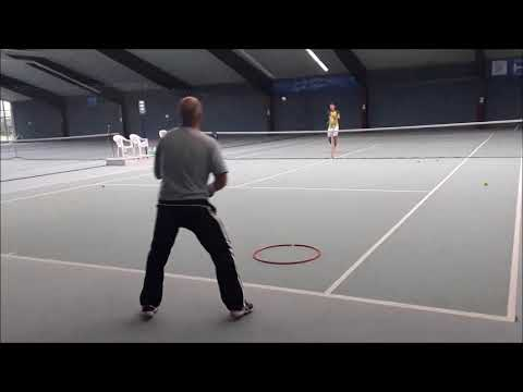 Tennis Drills - Technique Development - Developing Touch for Volley