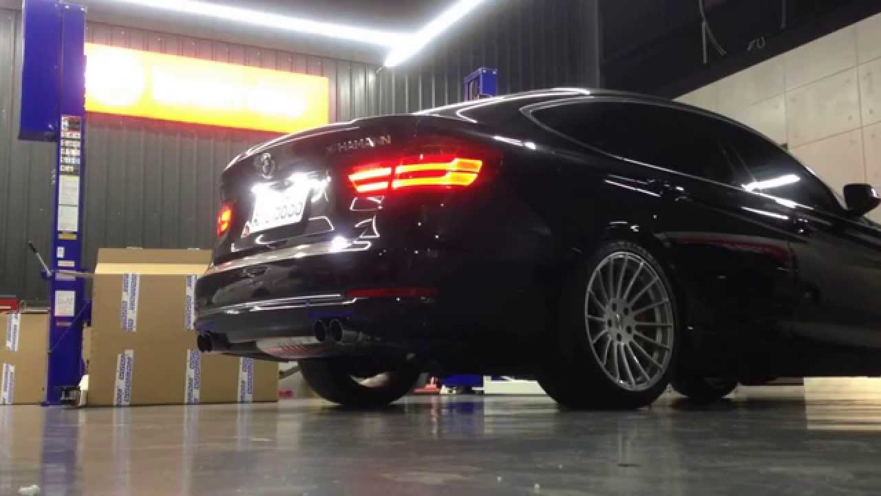 eisenmann race performance exhaust for 2014 bmw f34 by edo. Black Bedroom Furniture Sets. Home Design Ideas