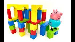 Fun for Kids and Kinder Surprise with Peppa Pig - Jajko Niespodzianka i Świnka Peppa