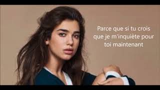 Dua Lipa - IDGAF (Traduction Française)