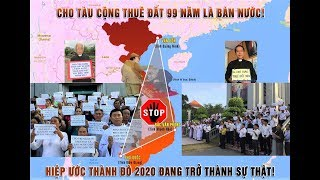 cứu nguy đất nước VIETNAMESE PROTEST AGAINST LEASING ...FOR 99 YEARS TO CHINA