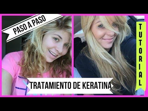 COMO HACER EL TRATAMIENTO DE KERATINA EN CASA | TUTORIAL: PASO A PASO