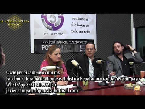 Javier Sampayo en programa de radio Puebla - que es la HIPNOSIS HOLISTICA REPARADORA?
