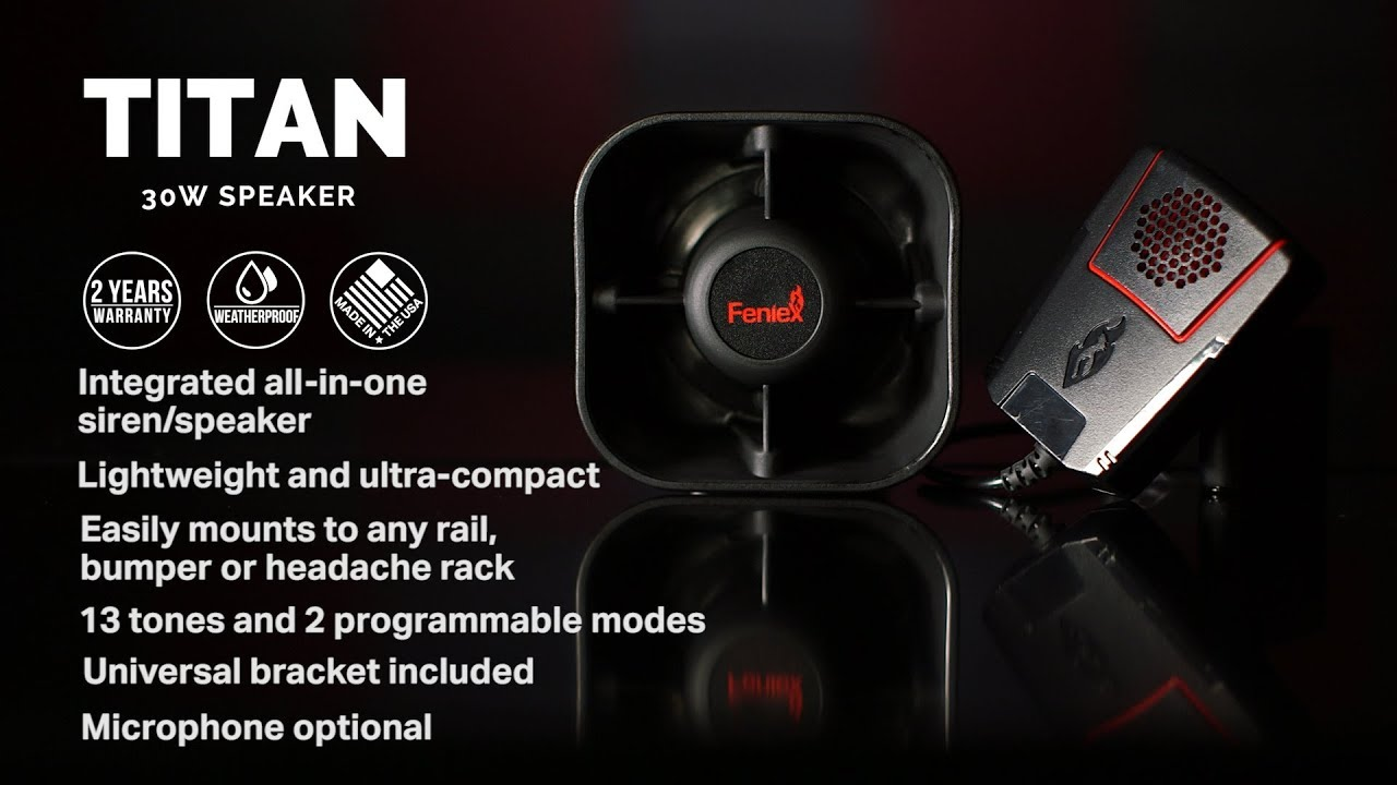 Titan 30Watt Speaker