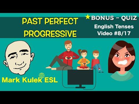 Past Perfect Progressive Tenses - English Grammar (#8/17) | Mark Kulek - ESL