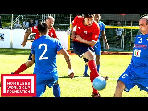 Amazing Goals Compilation! | Men's Plate Homeless World Cup 2017