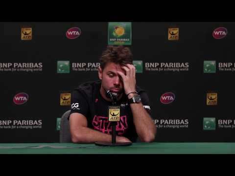 BNP Paribas Open 2017: Stan Wawrinka Final Press Conference