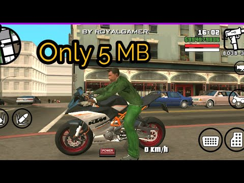 GTA San Andreas KTM Rc390 HD Quality Bike Mod For Android