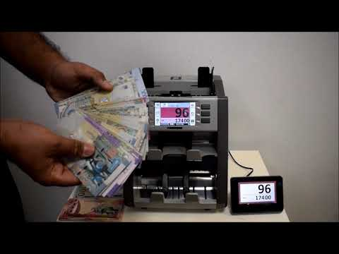Banknote Counting Machine:Plus P30 Two Pocket Currency Discriminator (Kuwait)