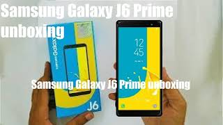 Samsung Galaxy J6 Prime unboxing