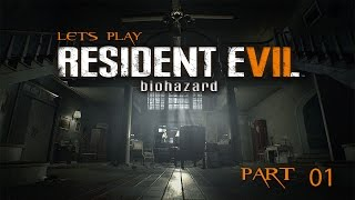 Let's Play - Resident Evil 7 - Madhouse Mode (Part 1)