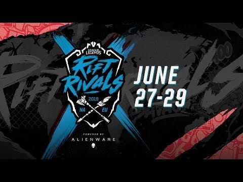 NA vs. EU - Day 1 | Rift Rivals | North America vs. Europe (2019)