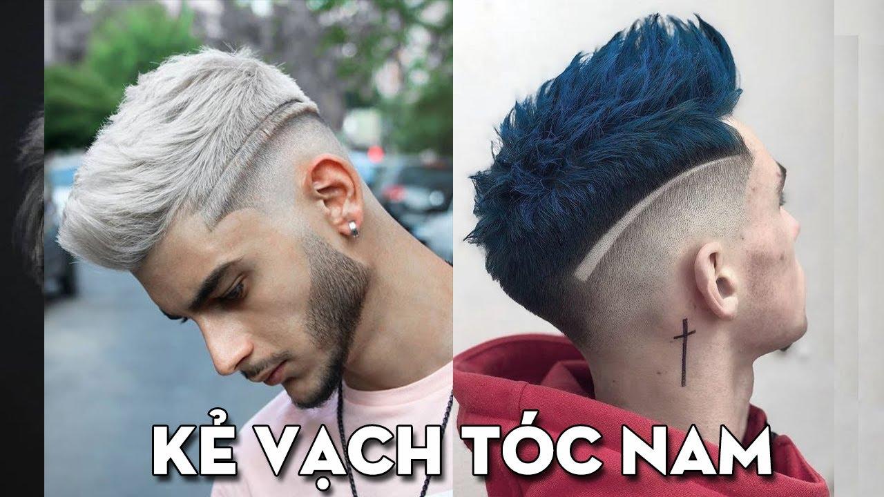 Các kiểu Kẻ Vạch Tóc Nam Đẹp nhất 2020 – Tattoo tóc nam đơn giản