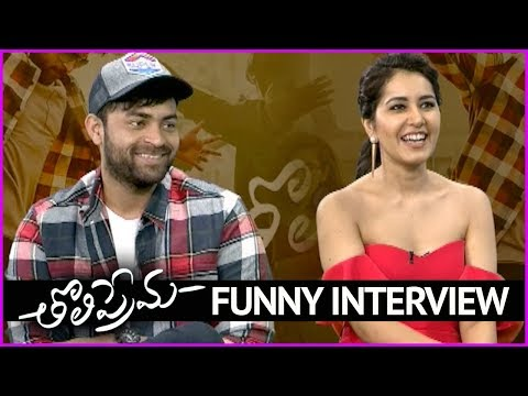 Varun Tej And Rashi Khanna Funny Interview - Full Video | Tholi Prema Movie