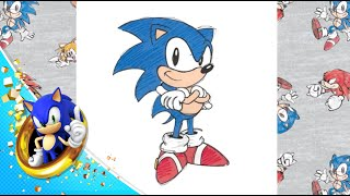 How 2 Draw Sonic: Pro Tutorial(New artist GabePaintedWhat gives you the inside scoop into how Sonic Team draws your favorite memorable characters. Follow him on Twitter: ..., 2016-08-04T23:14:38.000Z)