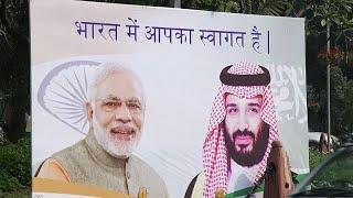 بالفيديو والصور.. شوارع الهند تتزين لاستقبال ولي العهد - صحيفة صدى الالكترونية