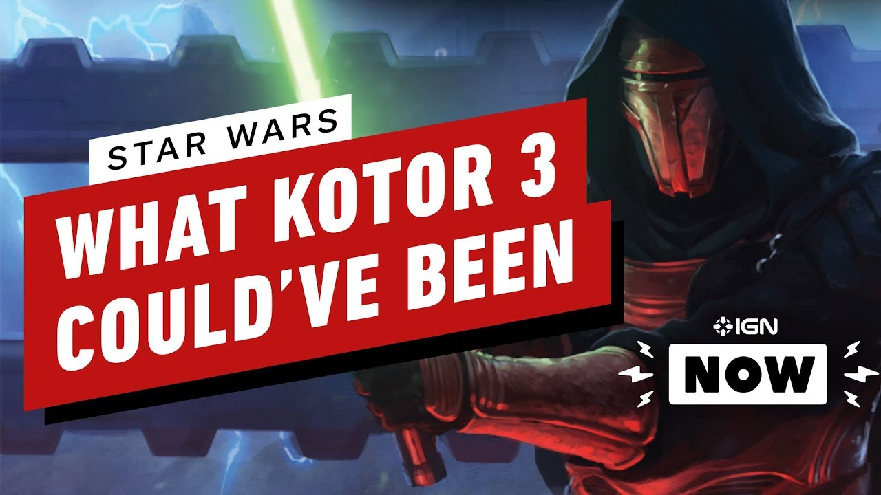 Dang It, KOTOR 3 Sounded Awesome - IGN Now