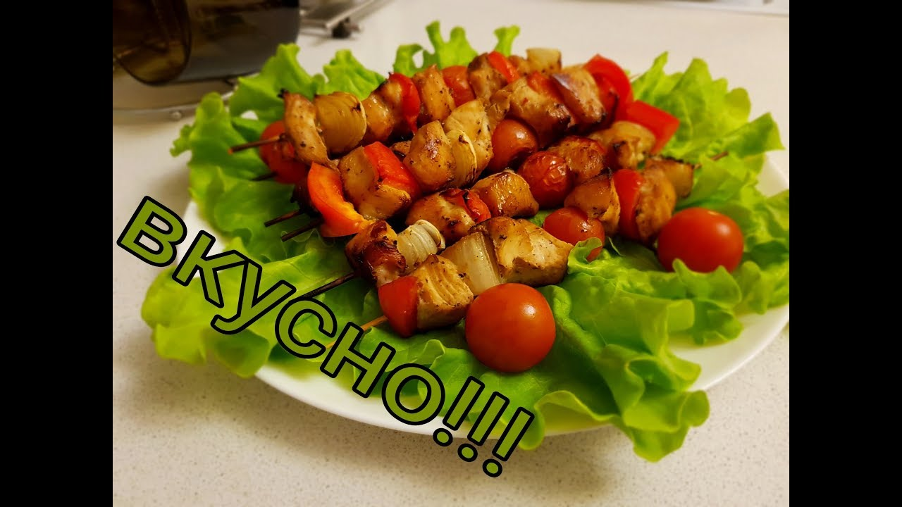 Шашлычки куриные на шпажках с картошкой в духовке рецепт 70
