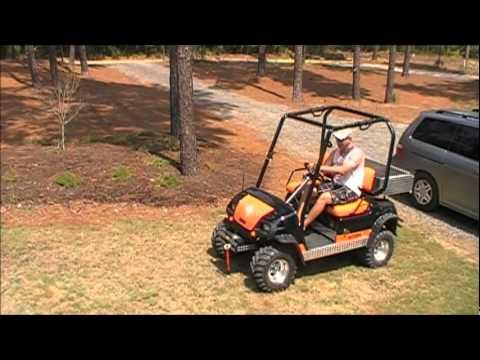 Golf cart on nitrous doing a wheelie youtube for Narrow golf cart