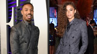 Michael B. Jordan Has an EPIC Response to Zendaya Rocking the Same Suit as Him