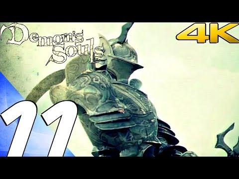 Demon's Souls - Gameplay Walkthrough Part 11 - Penetrator Boss Fight [4K 60FPS] Remastered