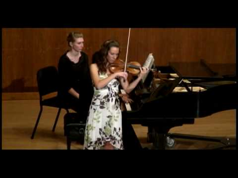 Undergraduate Recital - Strauss Violin Sonata in E flat major, Op.18
