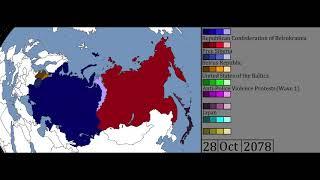 Rise & Fall of Belrukrainia, Aftermath of WW3 - Scenario 1 [Feat. Tank Dempsey]