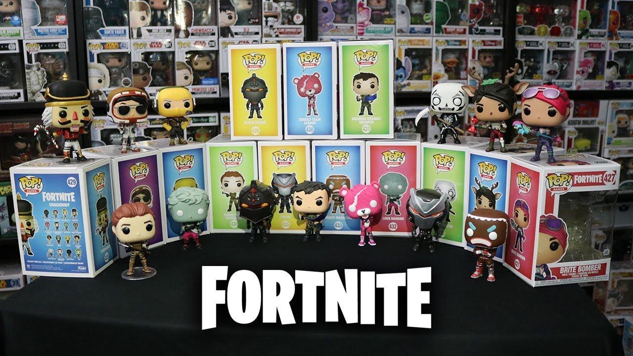 Fortnite Funko Pop Complete Set 360 Review Youtube
