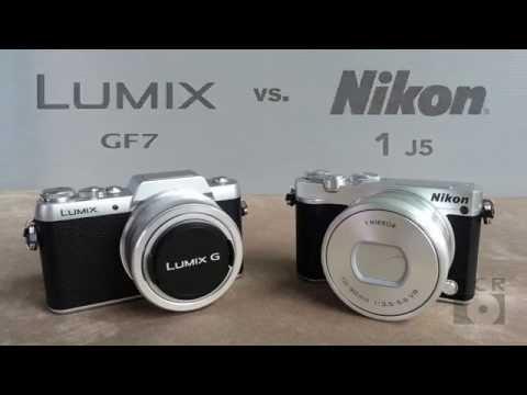 Panasonic GF7 vs. Nikon J5 Round 1 Hands-On Field Test Review Head to head