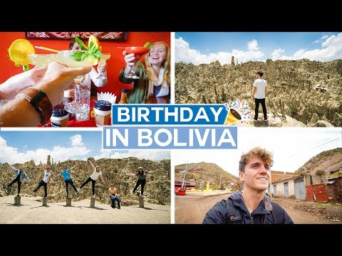 Birthday in Bolivia | La Paz Vlog