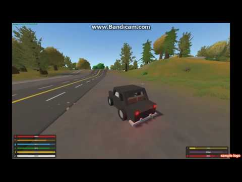 "Unturned the ""DRIFTLESS"" [single player] Trying to explore the map"