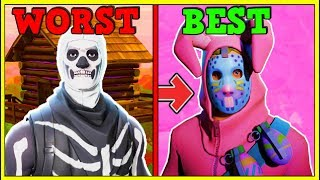 RANKING EVERY 'HOLIDAY SKIN' FROM WORST TO BEST! | Fortnite Battle Royale!
