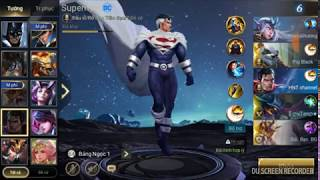 Liên quân Mobile HNT choi Superman Đồ chuẩn bất tử SUPERMAN Chúa tể công lý sức mạnh vô biên Tập 85