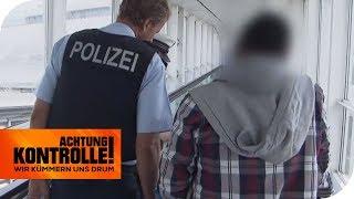 Internationaler Haftbefehl am Flughafen! Was hat der Mann gemacht? | Achtung Kontrolle | kabel eins