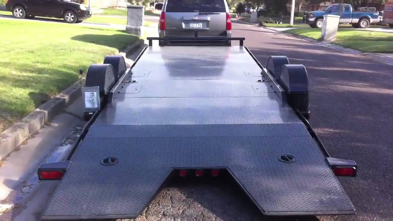 Maxey Air Ride Car Hauler Youtube