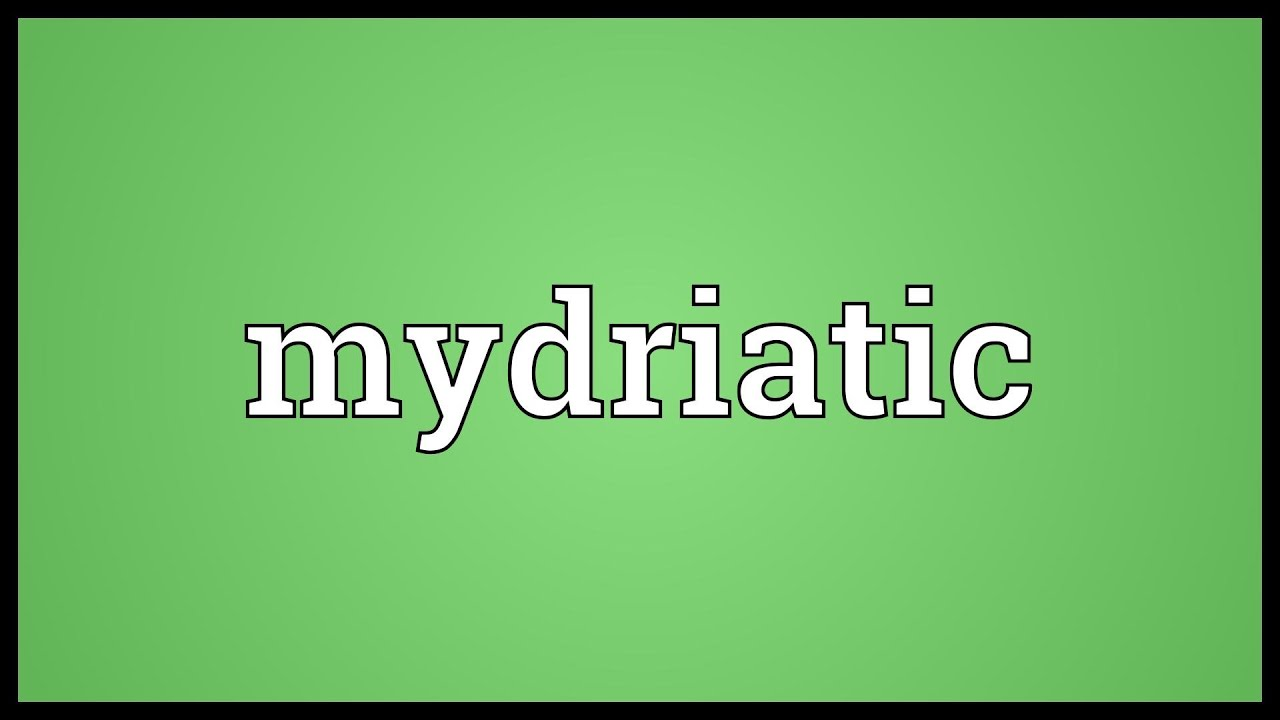 mydriatic meaning