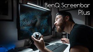 BenQ Screenbar Plus Review - The BEST Desk Lamp?