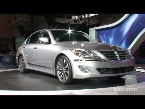 2012 Hyundai Genesis 5.0 R Spec 2011 Chicago Auto Show