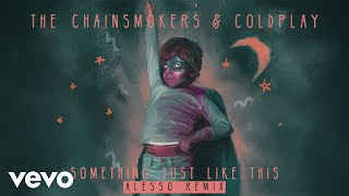 Скачать The Chainsmokers Coldplay Something Just Like This Alesso Remix Audio