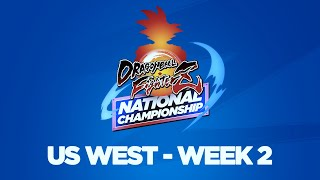 Dragon Ball FighterZ National Championship US West Week 2